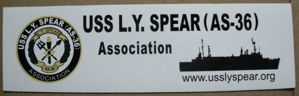 LYS Association Magnetic Bumper Sticker