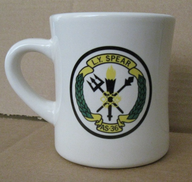 USS L. Y. SPEAR Coffee Mug