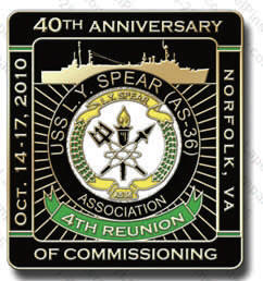 LYS Assn. 40th Anniversary Pin